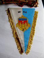 ANCIEN FANION TROUPES DE MARINE LE 38° GC ETAT EXCELLENT - Flags