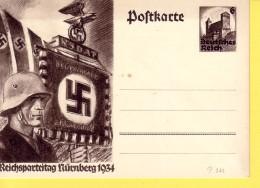 GERMANIA  REICH  - REICHSPARTEITAG NURNBERG 1934 -  NON  VIAGGIATA - Allemagne