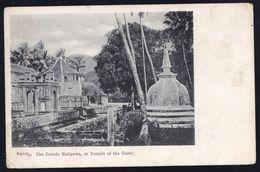 CEYLAN ( Sri Lanka ) - KANDY -The Dalada Maligawa - On Temple Of The Tooth ( Temple De La Dent ) - Sri Lanka (Ceylon)