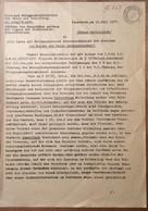 Österreich 1937 Postformular Geheime Verfügung ABHÖREN TELEFON GESPRÄCHEN Innsbruck > Langenegg Vorarlberg (Zensur BRIEF - 1918-1945 1. Republik