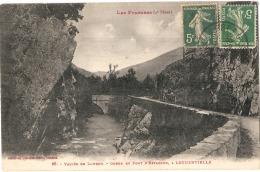 ***  65 ***  Vallée Du LOURON -  Pont Et Gorge D'Estagnon à LOUDENVIELLE TTBE - Frankreich