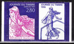 France - 1996  - Journée Du Timbre - Issu De Carnets - N° 2990a -  Neufs ** - MNH - Neufs