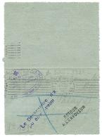 CARTE LETTRE  EN FRANCHISE MILITAIRE  / PARIS XIV BD D'ORLEANS / 1915 / SOCIETE FRANCAISE DE SECOURS AUX BLESSES - Postmark Collection (Covers)