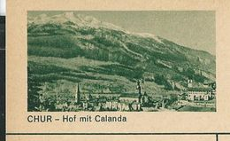 Carte Neuve N° 182 - 101  CHUR  -  Hof Mit Calanda - Ganzsachen