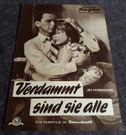 """Altes IFB-Filmprogramm - FRANK SINATRA In """"Verdammt Sind Sie Alle"""" Mit Dean Martin, Shirley MacLaine ... - 181078 - Riviste"""