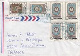 COVER PANAMA TO FRANCE. - Panama