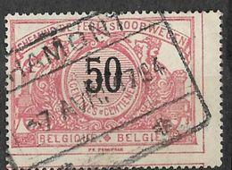 8Nz-965: N° TR21: HAMONT: Jaaraanduiding: 3 Cijfers: 194 Voor 1904: Type C19_k - Spoorwegen