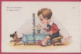 ILLUSTRATEUR ROB KING---Avis De Naissance---A Happy Event - Illustrateurs & Photographes