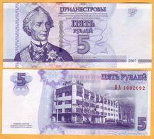 2012 Moldova ; Moldavie ; Moldau  Transnistria.  5 RUB  1002092 - Moldova