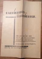 Österreich 1929 Post Innsbruck KARTIERUNG BAHNPOST TIROL    (Bludenz Lindau Langenegg Vorarlberg BRIEF - 1918-1945 1. Republik