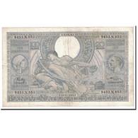Billet, Belgique, 100 Francs-20 Belgas, 1942, 1942-08-14, KM:107, TTB - [ 2] 1831-... : Belgian Kingdom