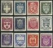 """FR YT 553 à 564 """" Armoiries De Villes """" 1942 Neuf* - Unused Stamps"""