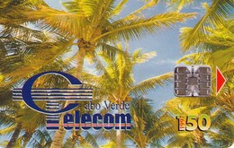 TARJETA TELEFONICA DE CABO VERDE. (002) - Kapverden