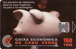 CABO VERDE. Caixa Economica. 1996. CPV-12. (004) - Cap Vert