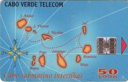 TARJETA TELEFONICA DE CABO VERDE. (005) - Cape Verde