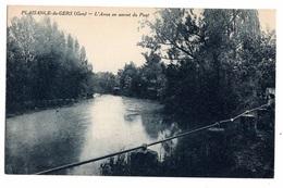32 GERS - PLAISANCE DU GERS L'Arros En Amont Du Pont - Autres Communes