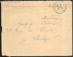 CM 184  Correspondance Militaire 24-12-18 Cachet Trésor Et Postes Simple Cercle N°(SP)168  129ème Division D'Infanterie - Marcophilie (Lettres)