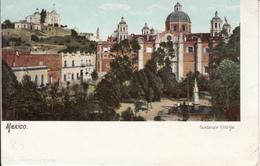Old Postcard - Mexico Mexique - Guadalupe Hidalgo - 2 Scans - Mexico