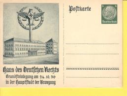 GERMANIA  REICH  -  HAUS DES DEUTSCHEN RECHTS -  NON  VIAGGIATA - Allemagne