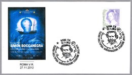 GIUSEPPE VERDI - SIMON BOCCANEGRA. Roma 2012 - Music