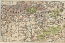 Paris Und Seine Festungswerke Carte Géographique  76 - Guerre 1914-18
