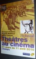 Carte Postale - Théâtres Au Cnéma à Bobigny (cinéma Affiche Film) Youssef Chahine - Posters On Cards