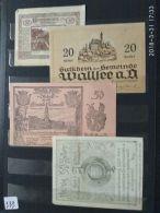 4 Notgeld Heller Vari Valori 1920  N. 222 - Autriche