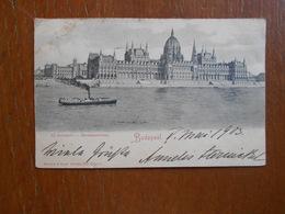 Cpa  Uj Orszaghaz Parlamentshaus 1903 - Hongrie