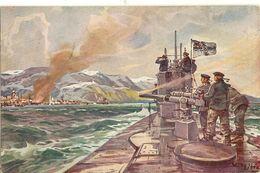 Stöwer, Willy, U-Boot Spende 1917    74 - Illustrateurs & Photographes