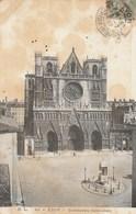 Dép. 69 - Lyon. - Cathédrale Saint-Jean. H. L. N°41. Voyagée 1907 - Lyon