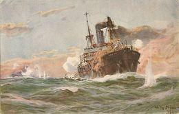 Stöwer, Willy, U-Boot Spende 1917    73 - Illustrateurs & Photographes