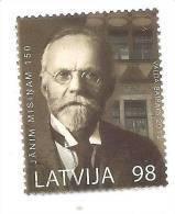 Latvia 2012 Janis Misins - 150 Years Latvian  Bibliographer, LIBRARY -  (0) USED - Latvia