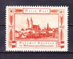 Vignette Werbemarke, Maria Saal, Kaernten 1930 (49003) - Erinnofilia