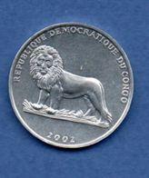 Congo - 50 Centimes 2002  -  Km # 75  -  état  SPL - Congo (Democratic Republic 1998)