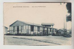 CPSM MONTDIDIER 'Somme) - La Sous Préfecture - Montdidier