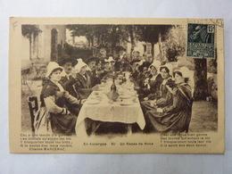 En Auvergne - Un Repas De Noce - Noces