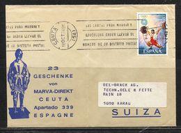 Spanien,  Espana , 1974  /  Ceuta  N. Aarau !!!!!!!!!!!!!! - 1931-Oggi: 2. Rep. - ... Juan Carlos I