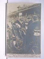 VOYAGE DES SOUVERAINS BELGES A PARIS (JUILLET 1910) - ARRIVEE DU ROI ALBERT 1er ET DU PRESIDENT DE LA REPUBLIQUE - Royal Families