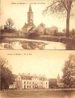 Château De Waleffes - Par Tour Et Ferme (lot 2 Cartes) - Faimes