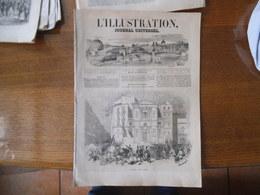 L'ILLUSTRATION JOURNAL UNIVERSEL N°275 SAMEDI 3 JUIN 1848 MASSACRE A NAPLES,UN CAFE EN TURQUIE,SAINT-CLOUD,BOUTIQUE DE B - 1800 - 1849