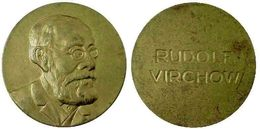 03347 GETTONE JETON TOKEN MEDAL COMMEMORATIVE MEDICINE RUDOLF VIRCHOW - Allemagne