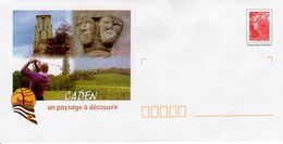 FRANCE - CADEN UNUSED  GOLFING  FDC4447 - Postal Stamped Stationery
