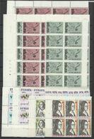 1958 1975 Belgio Belgium EUROPA CEPT EUROPE Serie Varie MNH**: 5F 1958 (x9), 17 Serie 1964, 30 Serie 1965, 8 Serie...... - Europa-CEPT