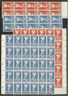 1958 Olanda Holland Nederland EUROPA CEPT EUROPE 40 Serie Di 2v. (30+10) MNH** - Europa-CEPT