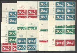 1958 Lussemburgo Luxembourg EUROPA CEPT EUROPE 22 Serie Di 3v. MNH** - Europa-CEPT