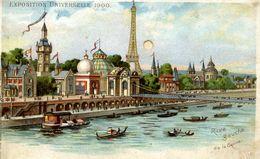 PARIS - EXPOSITION UNIVERSELLE 1900 - Rive Gauche De La Seine - Système Optique Lumineux Breveté KAHN & ZABERN - Mostre