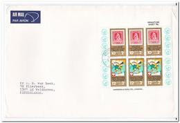 Nieuw Zeeland 1978, Airmail To Veldhoven Netherlands - Posta Aerea