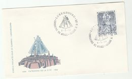 1966 LUXEMBOURG RELIGION Consoler Of The Afflicted EVENT COVER  Stamps - Covers & Documents