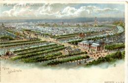 PARIS - EXPOSITION UNIVERSELLE 1900 - Vue Générale - Système Optique Lumineux Breveté KAHN & ZABERN - Mostre