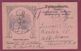 300318 GUERRE 14/18 - MILITARIA KAISER FRANZ JOSEF I - Portrait Empereur AUTRICHE FELDPOSKARTE - Sonstige